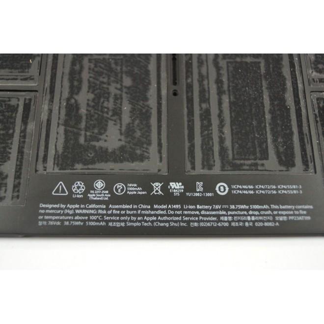 Bateria Apple Macbook AIR 11.6 A1495 A1465 Fabrycz