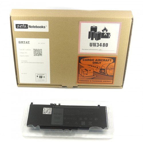 BATERIA do DELL E5270 E5470 E5570 62Wh 6MT4T
