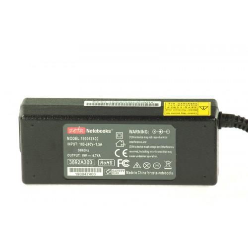 Ładowarka Zasilacz Zeta do HP 19V 4.74A pin