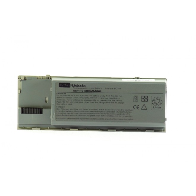 BATERIA Zeta do DELL D620 D630 5200mAh