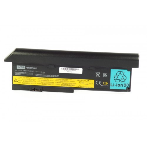 BATERIA Zeta do LENOVO X200 X201 7800mAh 9cell 43R9254