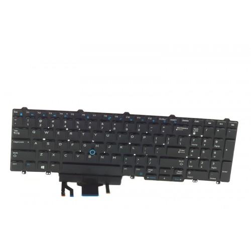 Klawiatura Dell Latitude E5550 E5570 podświetlana