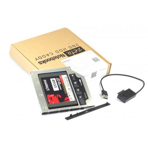 KIESZEŃ ZETA 2HDD DELL M6400, M6500, M4600, M4700 + kabel