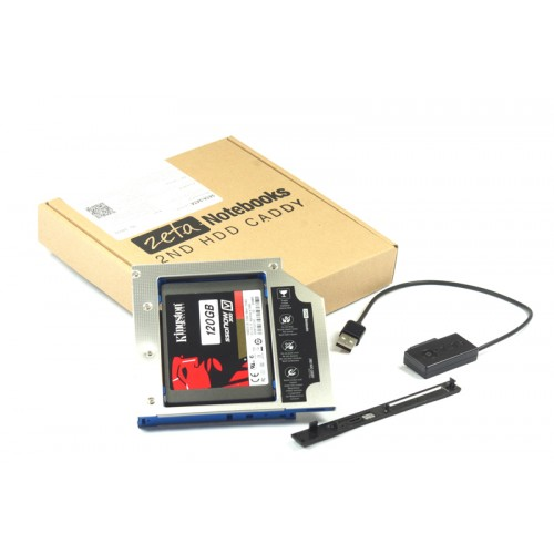KIESZEŃ ZETA 2HDD ASUS G50 G53 G60 G70 G72 G74 + kabel